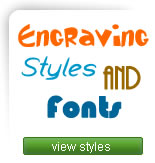 Engraving Styles and Fonts