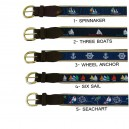 Nautical Motif Belts