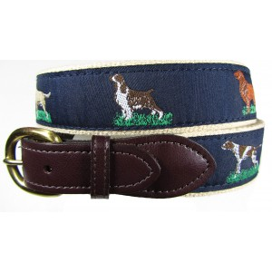 Hunting Dogs - Animal Motif Sports Belt