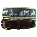Custom Belt - White Bengal