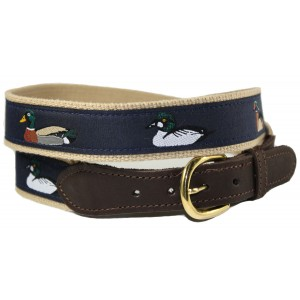 Animal Motif Sport Belt - Ducks