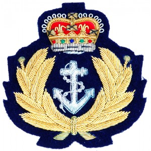 Royal Navy Blazer Patch