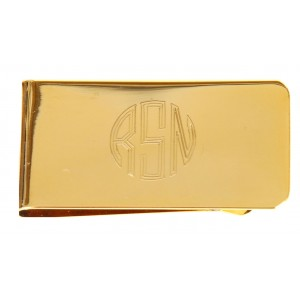 24K Gold Plated Money Clip